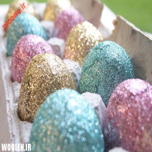 آموزش تزیین تخم مرغ عید نوروز ۹۵