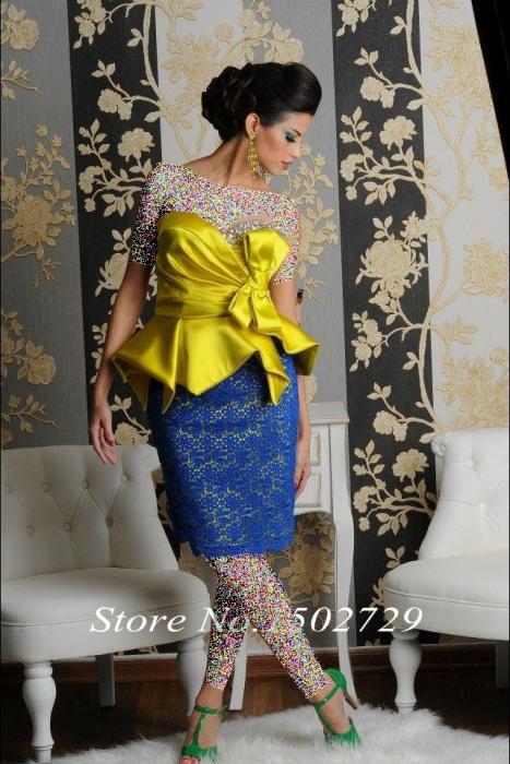 يكی از قشنگ ترين مدل های لباس شب مجلسی 2016