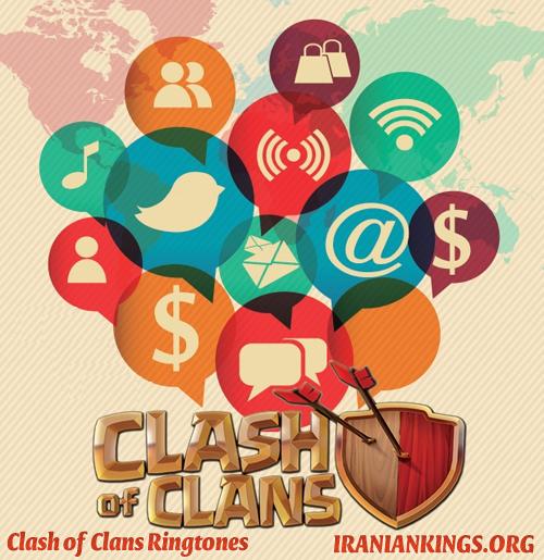 دانلود صداهای بازی کلش اف کلنز Download Clash of Clans Ringtones