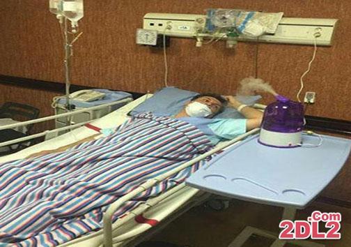 ممنوه التصویر شدن یک مجری به خاطر آنفولانزا + عکس