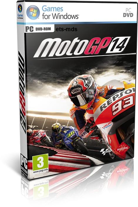 دانلود بازی زیبای moto GP14 برای کامپیتور