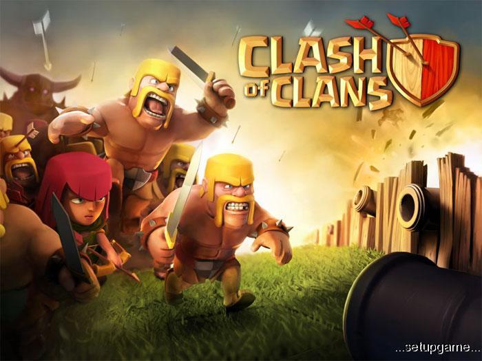 دانلود کلش اف کلنز نسخه clash of clans – در 19 آذر 1394