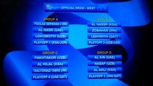 قرعه کشی لیگ قهرمانان آسیا (گزارش کامل)