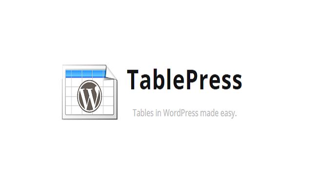 ساخت جدول برای وردپرس با افزونه tabletpress