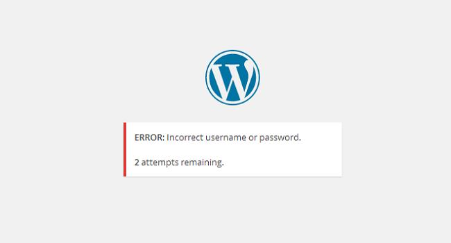 لوگین امن به وردپرس با افزونه login lockdown