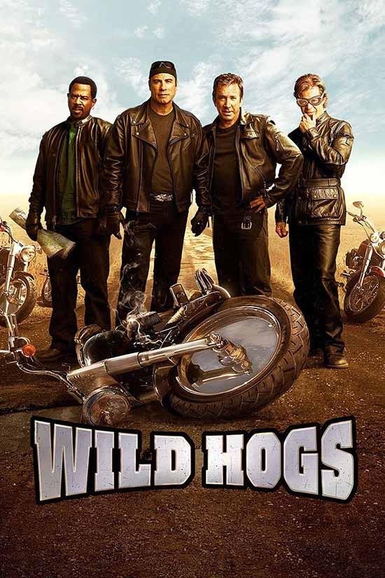 دانلود دوبله فارسی فیلم گرازهای وحشی Wild Hogs 2007