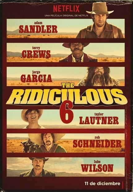 دانلود فیلم 6 مسخره The Ridiculous 6 2015