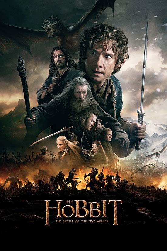 دانلود دوبله فارسی فیلم هابیت 3 : نبرد پنج ارتش-The Hobbit: The Battle of the Five Armies 2014