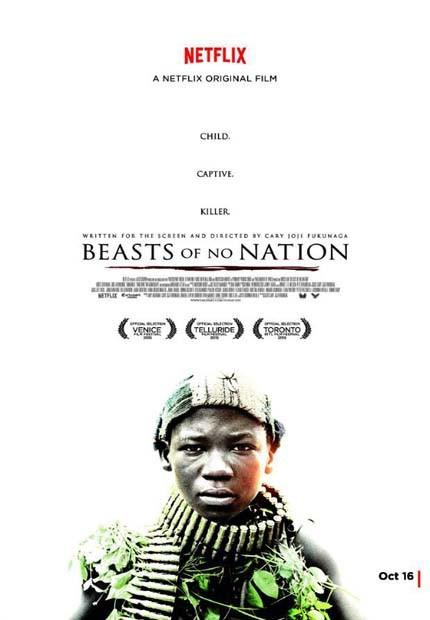 دانلود فیلم جانورانی از هیچ کشور Beasts of No Nation 2015