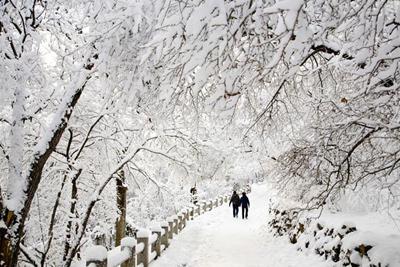 اس ام اس زیبای روزهای برفی و زمستونی