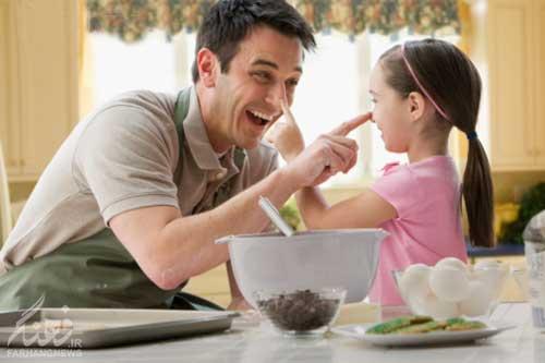راه های صمیمی شدن با فرزندتان