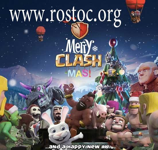 آپدیت جدید کلش آف کلنز در روز کریسمس