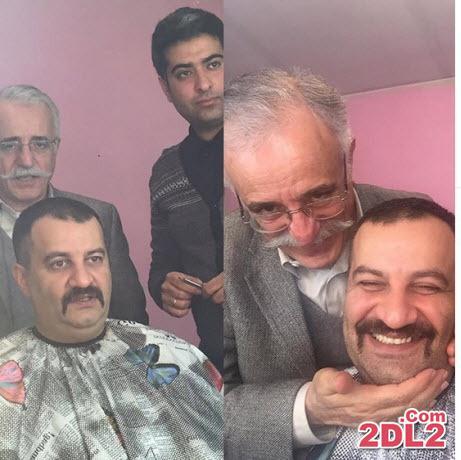 ورود مهراب قاسم خانی به دنیای بازیگری + عکس گریم او