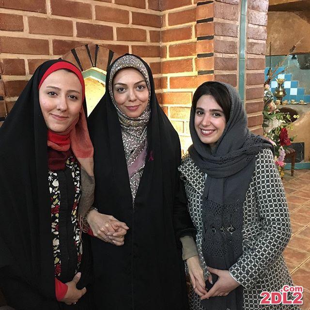 عکس آزاده نامداری در جشن شب یلدا