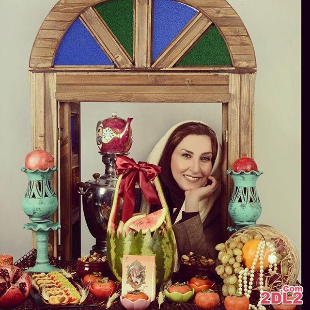 عکس منتشر شده از بازیگر معروف به مناسبت شب یلدا
