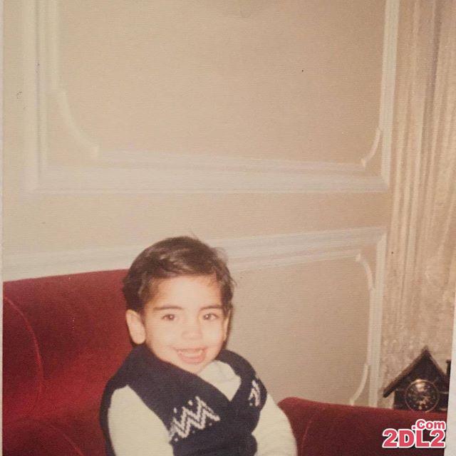عکسی منتشر نشده از احسان علیخانی در 3 سالگی