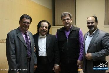 دانلود اولین اجرای ارکستر سمفونیک ملی ایران با حضور استاد شجریان/همراه عکس