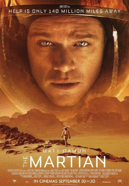 دانلود رایگان فیلم مریخ The Martian 2015