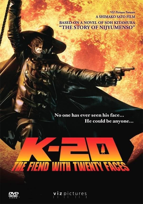 دانلود دوبله فارسی فیلم کی۲۰: شیطان با بیست چهره K-20: The Fiend with Twenty Faces 2008