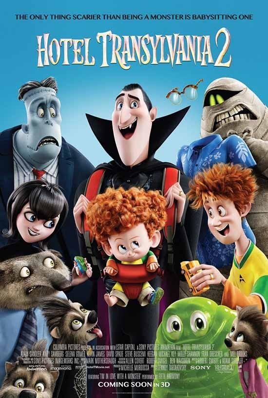 دانلود رایگان انیمیشن Hotel Transylvania 2 2015
