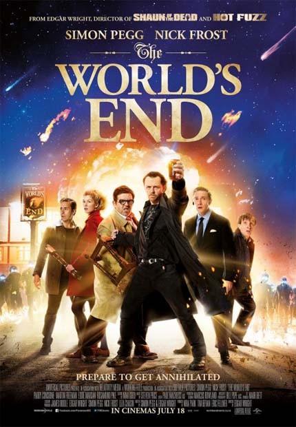 دانلود رایگان دوبله فارسی فیلم پایان دنیا The Worlds End 2013
