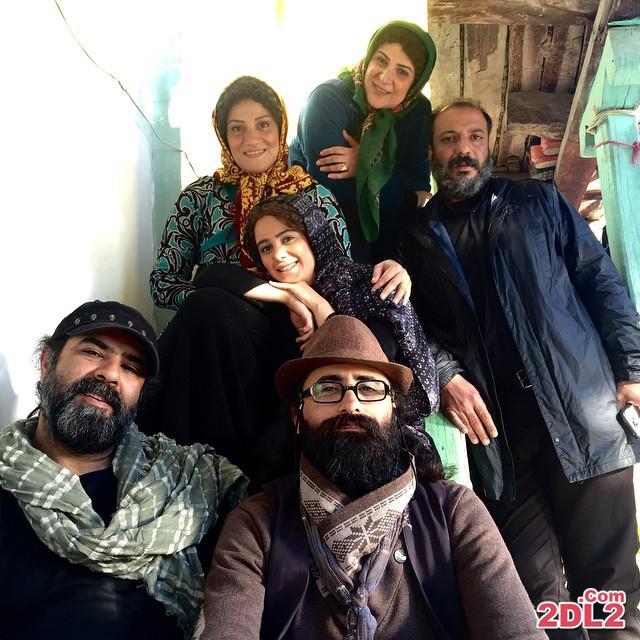عکس سلفی الناز حبیبی در پشت صحنه فیلم جدیدش