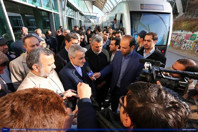 گزارش تصویری بازدید نوبخت از توسعه خط 1 قطارشهری