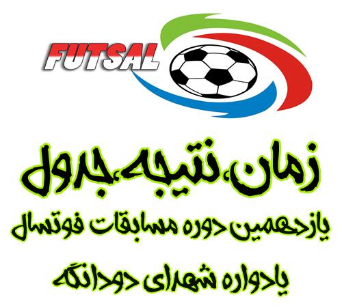 برنامه بازیها و نتیجه مرحله یک چهارم جام 11