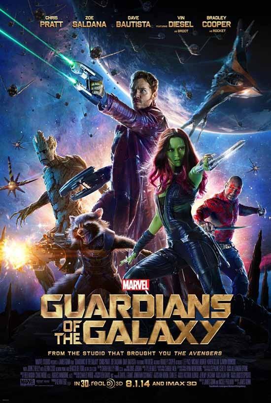 دانلود رایگان فیلم نگهبانان کهکشان Guardians of the Galaxy 2014 با دوبله فارسی