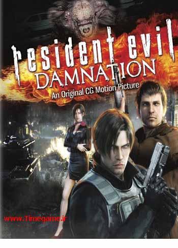 دانلود دوبله فارسی انیمیشن اهریمن درون: نفرین ابدی – Resident Evil: Damnation 2012