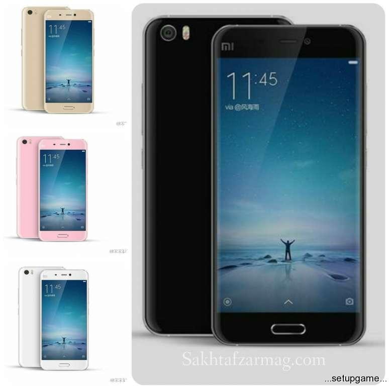 تصاویر نهایی از Xiaomi Mi 5 در رنگ های مختلف