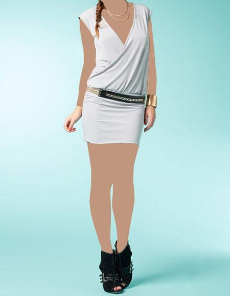 مدل شیک و باکلاس لباس مجلسی کوتاه دخترانه2016
