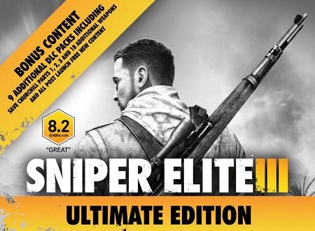 دانلود نسخه فشرده بازی Sniper Elite 3 Ultimate Edition برای PC