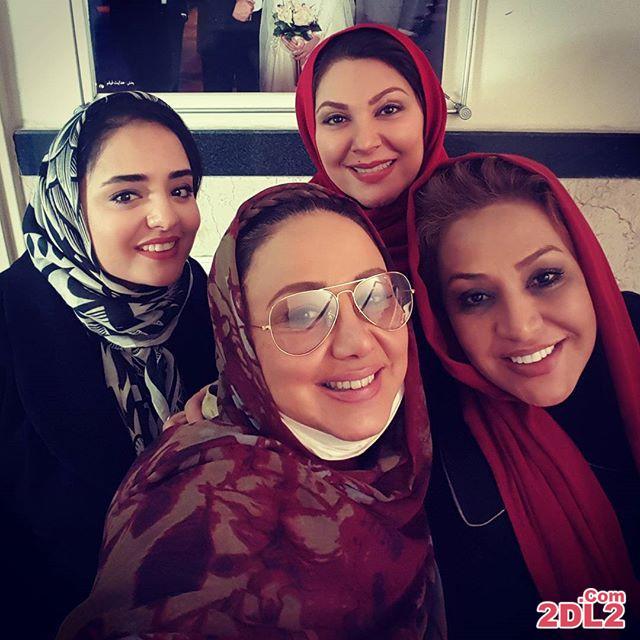 عکس سلفی بهنوش بختیاری با بازیگران زن معروف