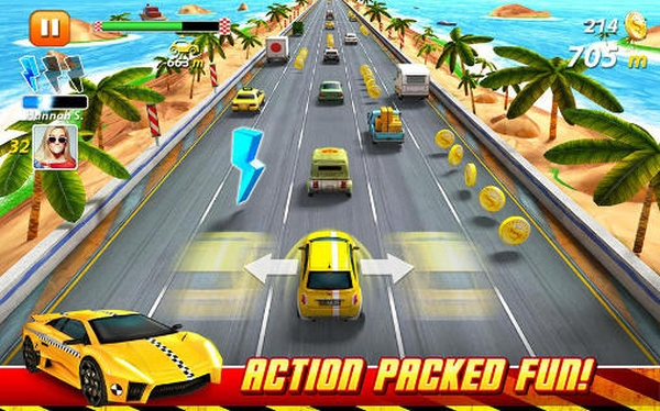 پکیج یونیتی On The Run by Miniclip