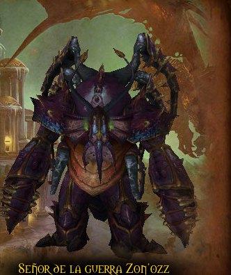 boss warlord zon/o'zz