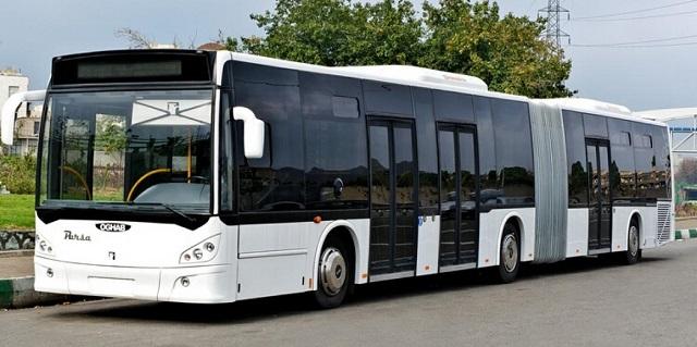 ورود ۱۰۰ دستگاه اتوبوس BRT سه محوره به مشهد