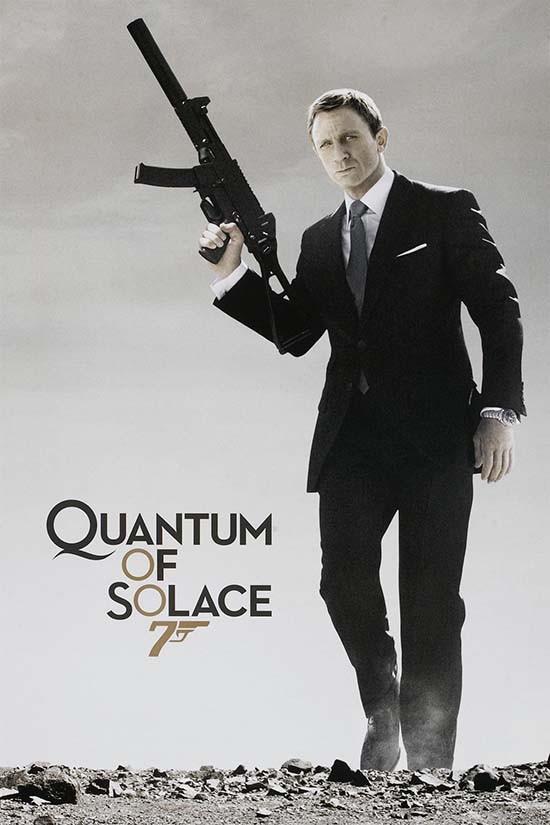 دانلود رایگان فیلم ذره ای آرامش Quantum of Solace 2008 با دوبله فارسی