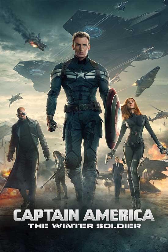 دانلود دوبله فارسی فیلم Captain America: The Winter Soldier 2014