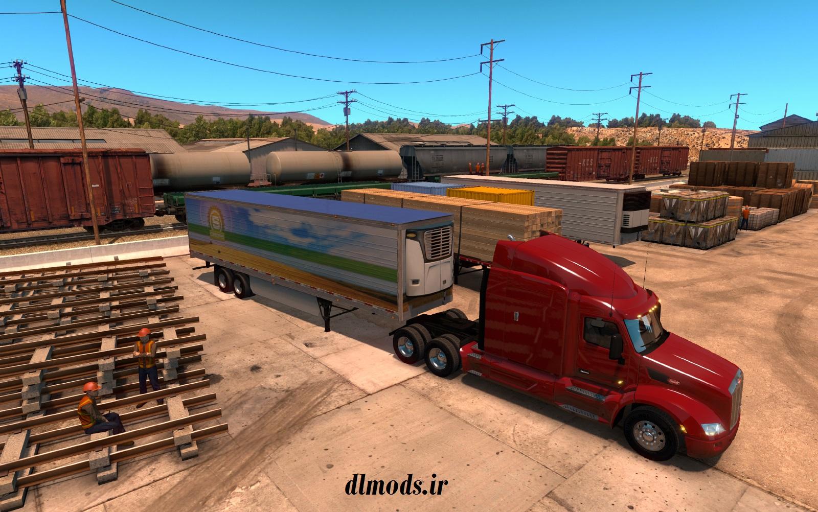 تاریخ انتشار و سیستم مورد نیاز و عکس هایی از بازی American Truck Simulator منتشر شد