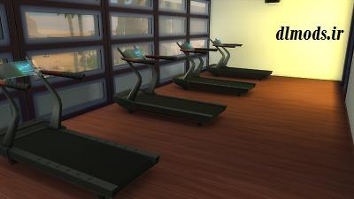 دانلود مد باشگاه بدن سازی در sims 4