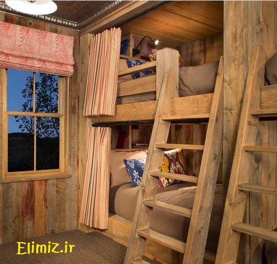 دکوراسیون چوبی اتاق خواب کودک