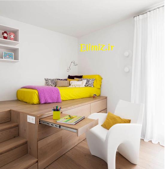 طراحی دکوراسیون اتاق بچه