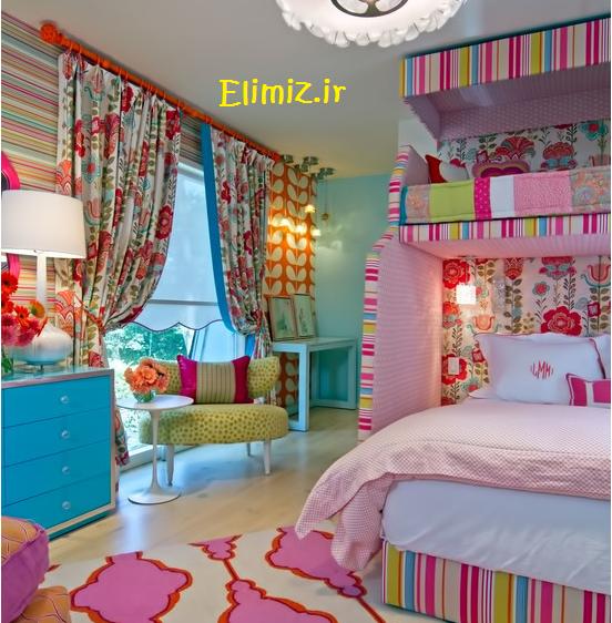 طراحی خوشگل اتاق خواب کودک