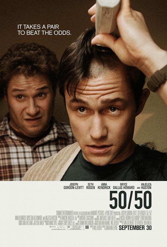 دانلود رایگان فیلم پنجاه درصد زندگی 2011 50/50 با دوبله فارسی