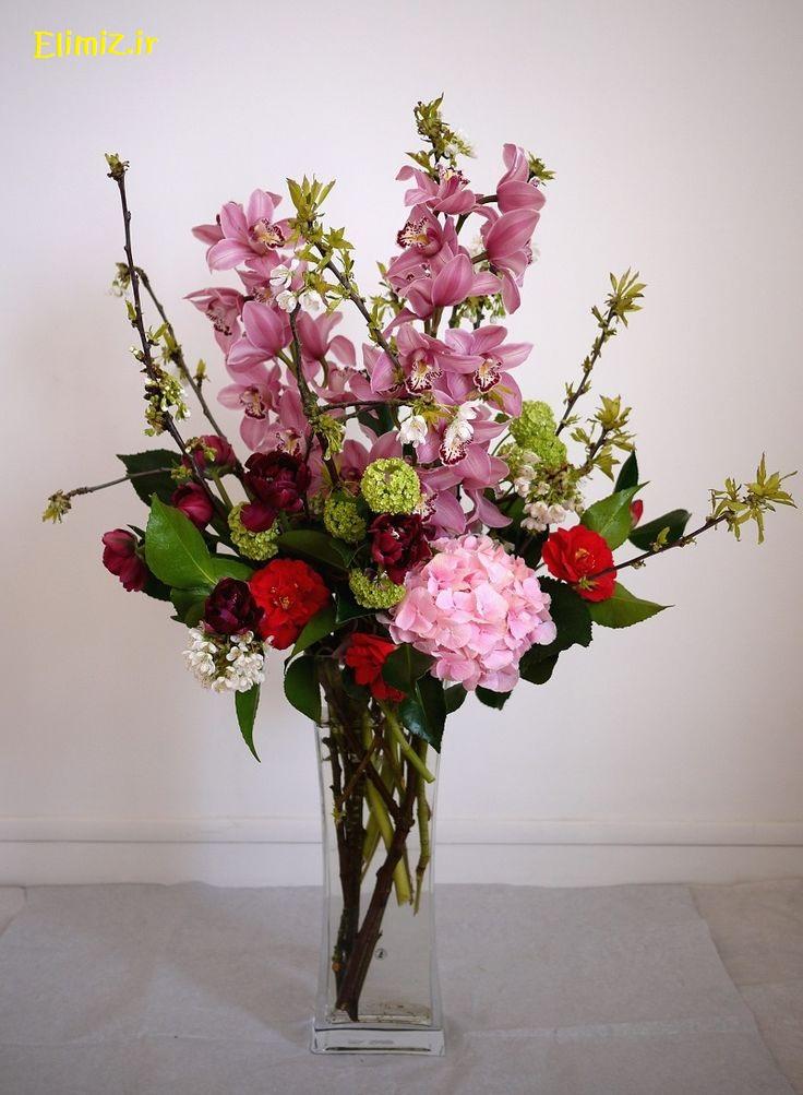 عکس گل و گلدون