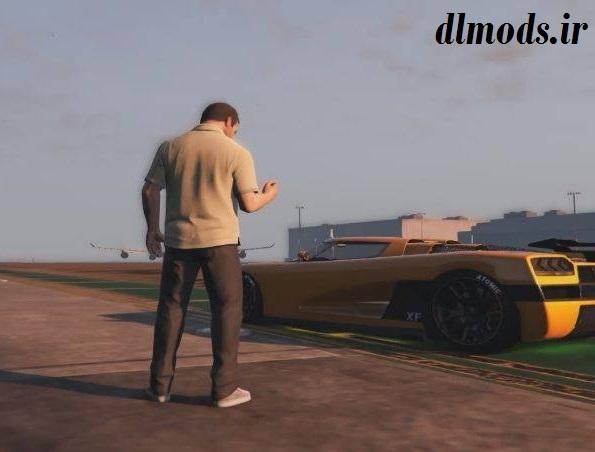 دانلود مد ریموت ماشین در بازی GTA V