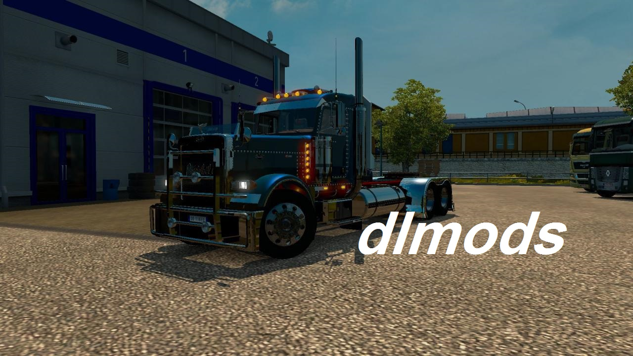 دانلود مد MODIFIED PETERBILT 389 V2.0