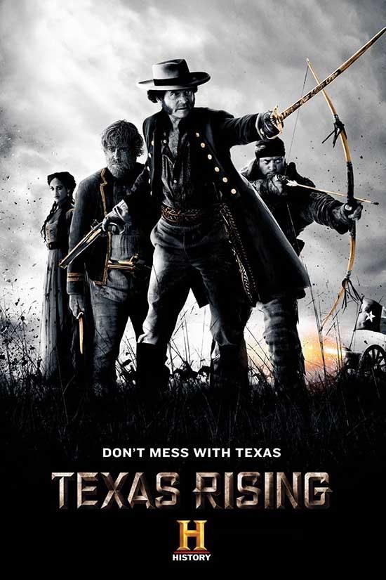 دانلود رایگان سریال قیام تگزاس Texas Rising با دوبله فارسی