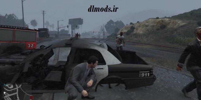 دانلود مد زامبی GTA V